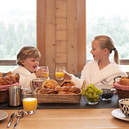 Childrens Breakfast Chalet Heavenly Morzine